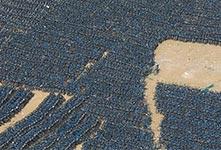 七萬輛小藍單車停放廢舊停車場