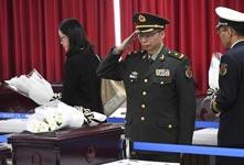第5批在韩中国志愿军遗骸装殓