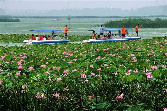 周口淮阳龙湖风景区