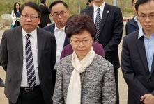 林郑访大湾区 推优势产业落户