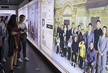 南京大屠杀幸存者家族影像展出