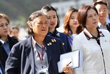 泰國公主赴汶川地震災區參觀