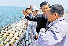 港珠澳大桥防波堤结构毋须修復