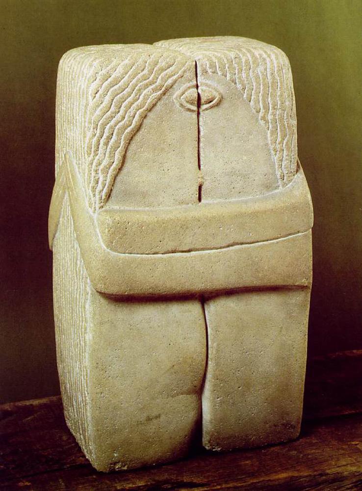 """雕塑家布朗庫西:一生做""""減法""""\李夢"""