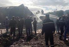 阿尔及利亚军机坠毁 257人遇难