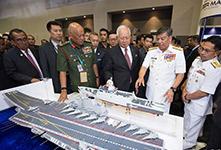 中国军工亮相马来西亚亚洲防务展