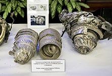 俄展英法美对叙发射导弹的碎片