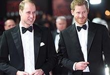 英国哈利王子邀请哥哥担任伴郎
