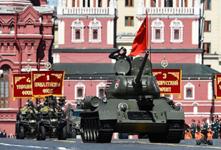 俄罗斯阅兵多款新型武器装备亮相