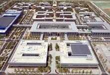航拍雄安新区首个大型建设工程