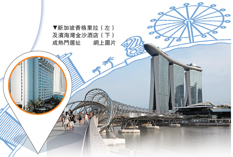 """传""""特金会""""地点 新加坡两酒店爆满"""