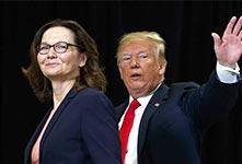 CIA首位女局長哈斯佩爾宣誓就職