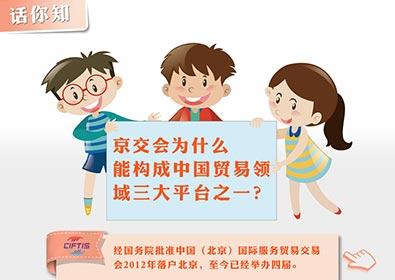 京交会构成中国贸易领域三大平台之一