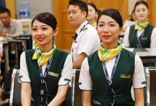 大陸首批台灣乘務員晉升乘務長