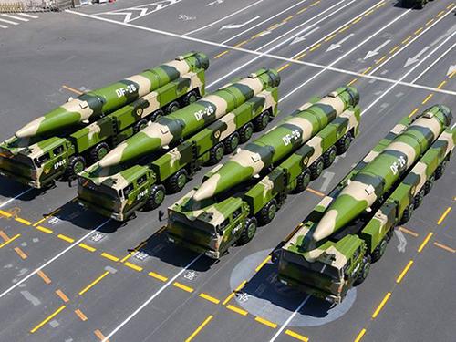撒手锏密集曝光中国军力跃升 立足为军事斗争准备
