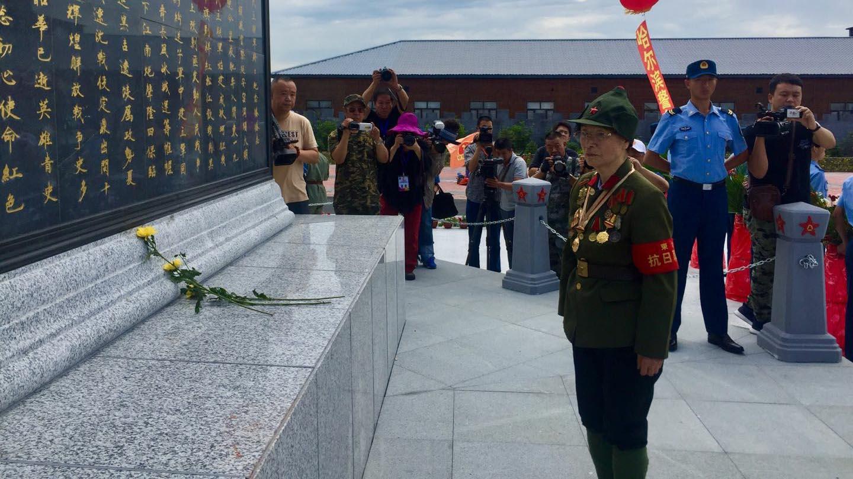 东北民主联军将士纪念塔揭幕 传承黑土地红色基因