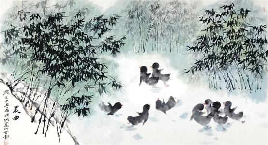 讲述了春天的故事,歌颂了生命的春天:杨越甲子画集