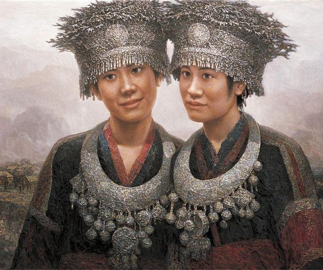 中国著名画家李书成油画作品赏析