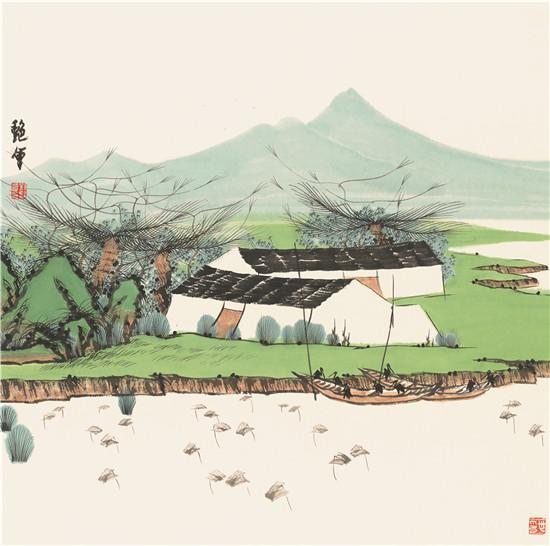 江山如画——刘艳会艺术展将在开封大观美术馆开幕