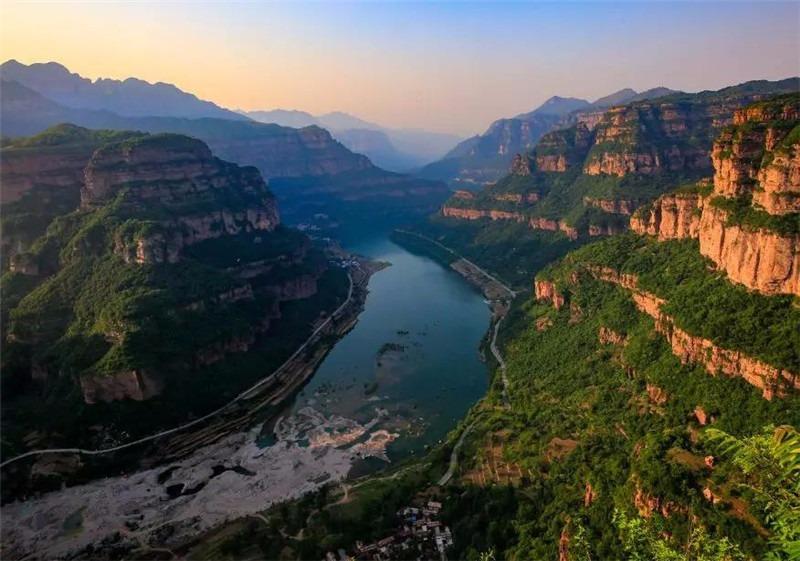 林州太行大峡谷:一生必去的地方